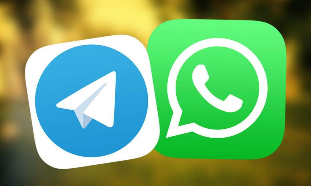 Telegram - WhatsApp